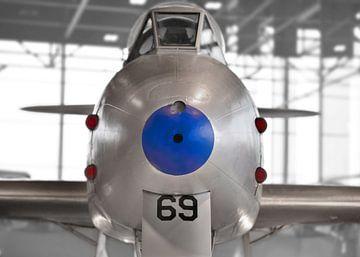Straaljager - Gloster Meteor  van Wim Goedhart