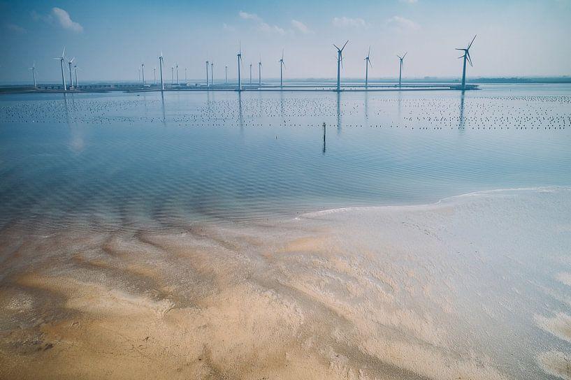 Windmolenpark Krammer meer van Bernardine de Laat
