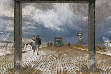 Zondagmiddag wandeling over de Scheveningse Pier van Arjen Roos