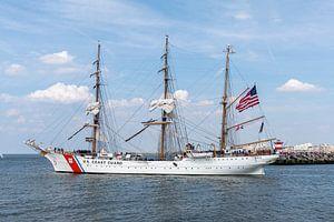 US Coast Guard antiek schip, schip van Digikhmer