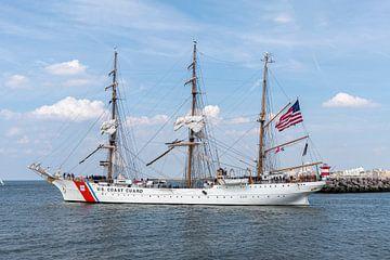 US Coast Guard antiker Großsegler, Schiff