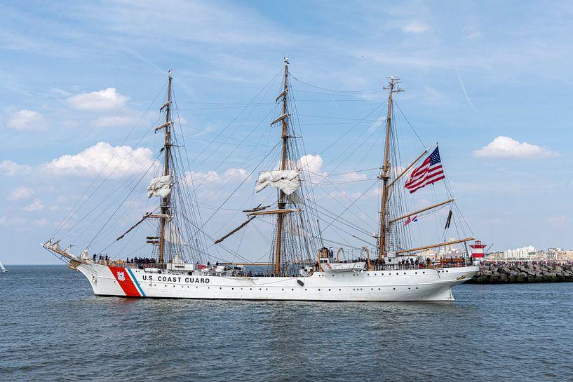 US Coast Guard antiker Großsegler, Schiff von Digikhmer