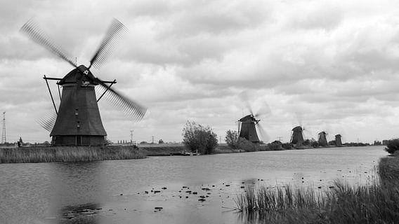 Kinderdijk, Nederland van Chris van Kan