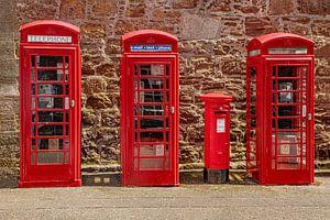 Rote Telefonzellen England