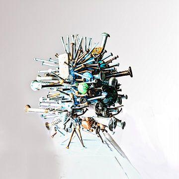 ROBOTTEKE No. 1 (2016, Alexx Faasse) van Alex Faasse