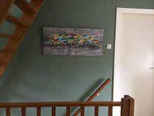 Kundenfoto: Peloton von Atelier Paint-Ing, auf leinwand