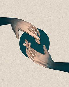 Goldene Hände von Klaudia Kogut