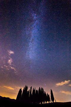 Melkweg in Italie von Roy Poots