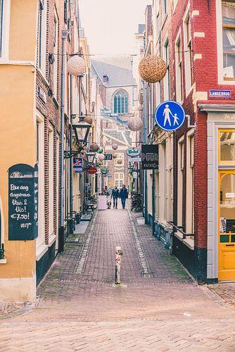 Leiden alley van