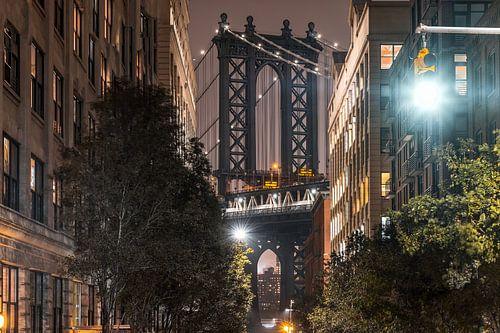 Manhattan Bridge van Kurt Krause