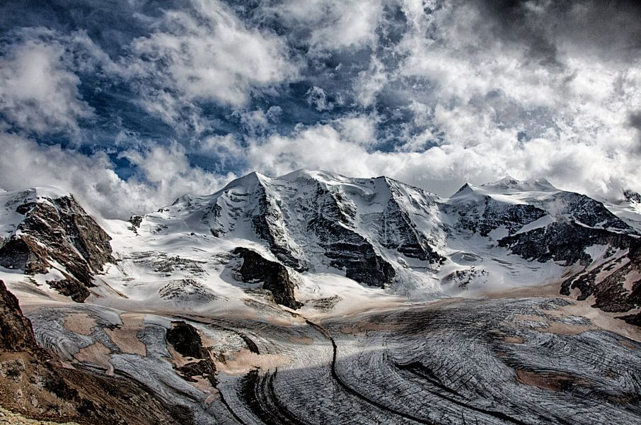 Diavolezza gletsjer van Maarten Mensink