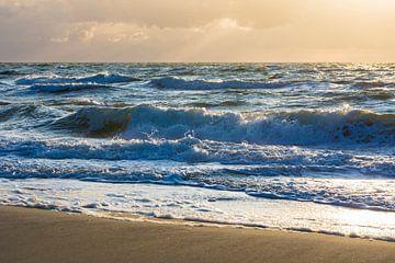 Wellen an der Ostsee von Werner Dieterich