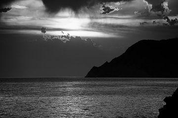 Sonnenuntergang von Manarola von Kirsten Scholten