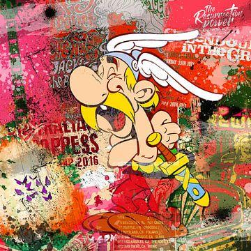 Asterix von Rene Ladenius Digital Art
