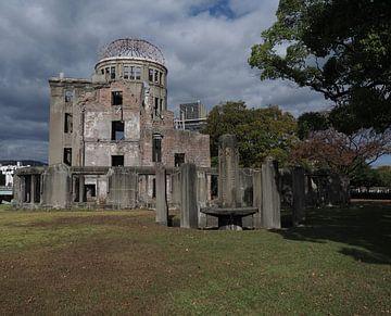 De Atoom Bom Koepel Hiroshima van eric piel