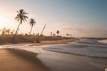 Strand Cumbuco Brazilie sur