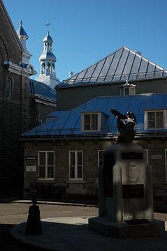 Plein in Quebec #4 van Marcel Admiraal