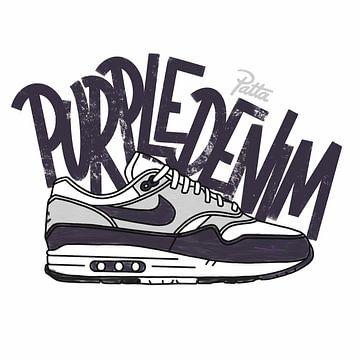 "Nike Air Max 1 ""Patta Lila Denim"" von Pim Haring"