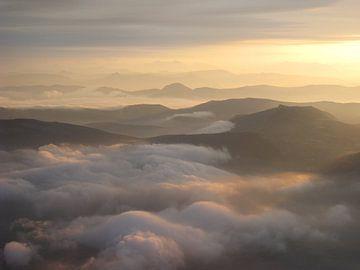Sonnenaufgang Mont Ventoux von Le Mistral