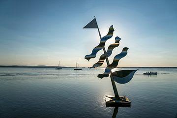 Skulptur  am Steinhuder Meer von Peter Schickert