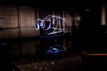 Dansend licht van Dick Carlier