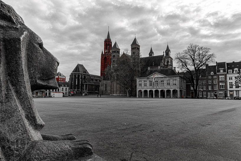 Vrijthof Maastricht van Geert Bollen