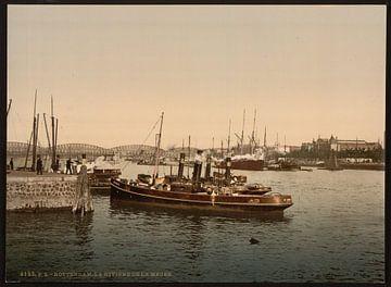 Maas, Rotterdam von Vintage Afbeeldingen