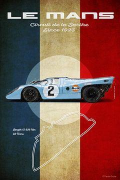 Le Mans Vintage 917 van Theodor Decker