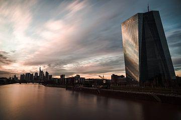 Frankfurt Skyline EZB (Europäische Zentralbank) von domiphotography