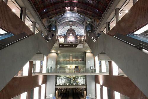 Trappenhal Antwerpen Centraal van