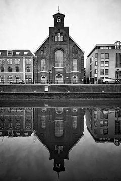 Architectuur in Utrecht: De Westerkerk aan de Catharijnekade in Utrecht van De Utrechtse Grachten