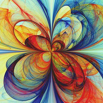 Composition abstraite 389 van Angel Estevez