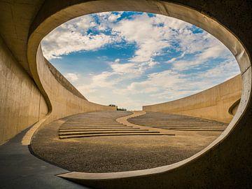 Openlucht Theater De Brug van Vroenhoven van Art By Dominic