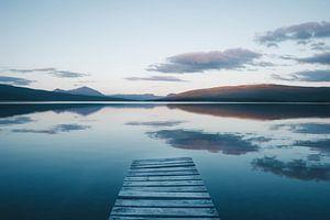 Middernachtzon in Zweeds Lapland