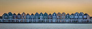 Kleurrijke huizen sur Richard Reuser