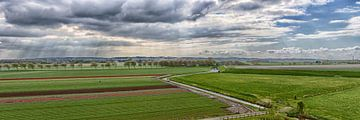 Landschap van West-Friesland van Roel Ovinge