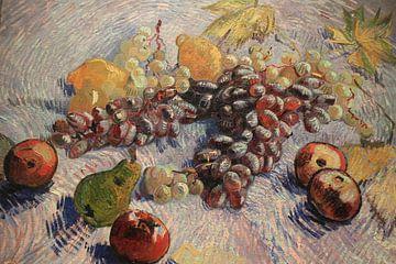 Stillleben mit Trauben, Äpfeln, Zitronen und Birne, Vincent van Gogh