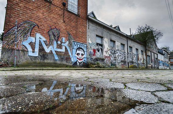 Street art België