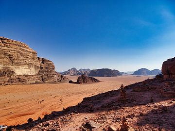 Wadi Rum van Bart Nikkels