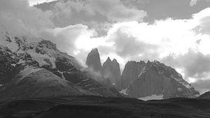 Torres del Paine  van