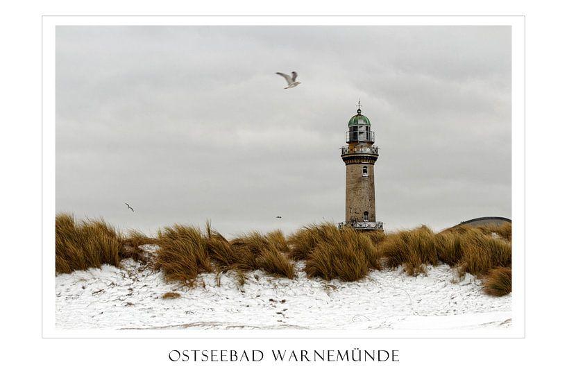 Winter in Warnemünde sur Felix Lachmann