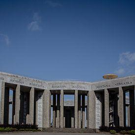 memorial du mardasson van Eric van Nieuwland