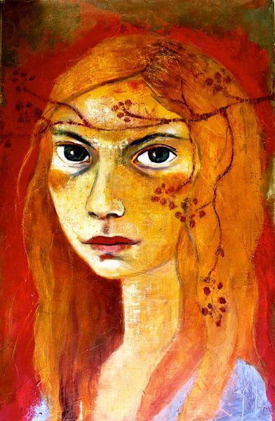 Meisje met rood haar van RAR Kramer