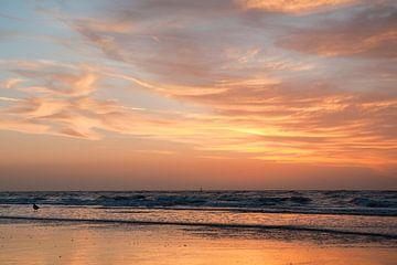 Sunset in Westende - Belgium sur Tamara Witjes