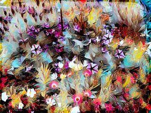 Blumenwiese Ölmalerei