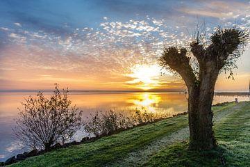 Sneekermeer, sunrise von Jaap Terpstra
