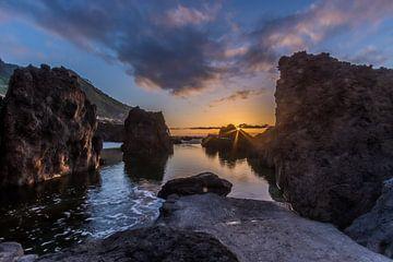 Sunset Madeira  van Ben Bokeh