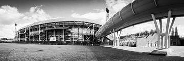 Feijenoord-Stadion - De Kuip von Anthony Malefijt