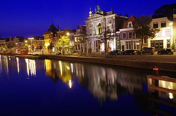 Haarlem  bei Nacht von Reinhard  Pantke