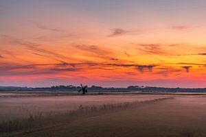 Texel zonsondergang De Staart van